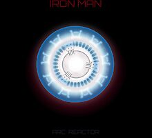 Iron man - Arc reactor by Mixposters