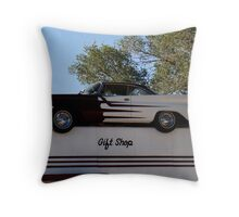 Rooftop Pontiac Throw Pillow