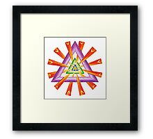 Sacred Geometry - Full-Color Print Framed Print