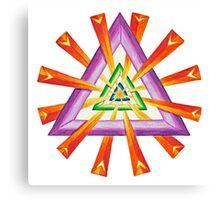 Sacred Geometry - Full-Color Print Canvas Print