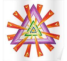 Sacred Geometry - Full-Color Print Poster