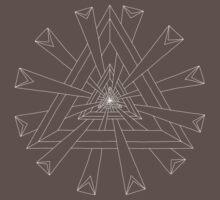 Sacred Geometry - T-Shirt/Hoodie - White Design by TheMandalaLady