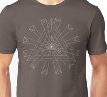 Sacred Geometry - T-Shirt/Hoodie - White Design Unisex T-Shirt