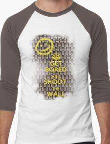 Get Bored Men's Baseball ¾ T-Shirt