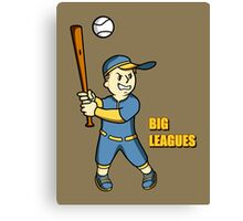 Big Leagues Canvas Print