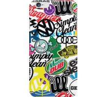 VW Sticker Bomb #wc2 iPhone Case/Skin