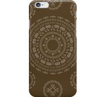 Monogram Pattern (E) in Carafe iPhone Case/Skin