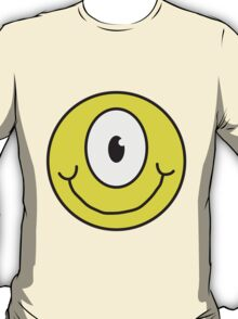 Funny Cyclops Smiley T-Shirt
