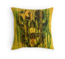 Birth of Oblivion Throw Pillow