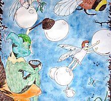 Elves & Fairies by Margo Humphries