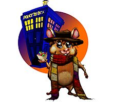 Doctor Who Hamster Jelly baby? Photographic Print