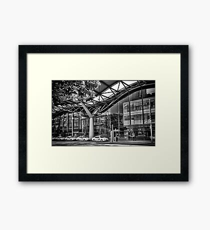 Southern Cross Station Melbourne, Australia  Framed Print