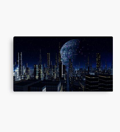 Worldship - Earth Seeker Canvas Print