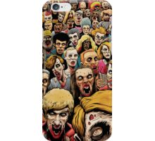 Zombie Horde iPhone Case/Skin