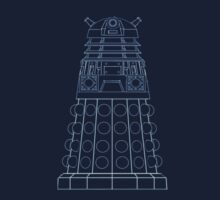 Dalek Blueprint One Piece - Short Sleeve