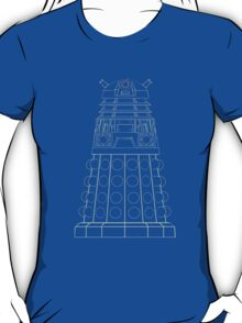 Dalek Blueprint T-Shirt