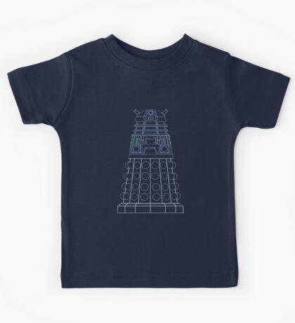 Dalek Blueprint Kids Tee