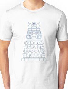 Dalek Blueprint Unisex T-Shirt