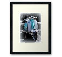 Lambretta Li 125 series 2  Framed Print