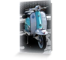 Lambretta Li 125 series 2  Greeting Card