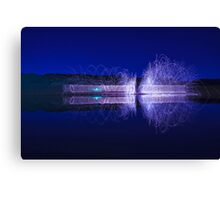 )))))) magnetic field (((((( Canvas Print