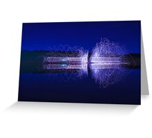 )))))) magnetic field (((((( Greeting Card