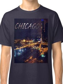 Chicago Abstract Skyline Classic T-Shirt