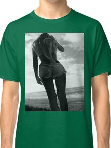 Black and white babe Classic T-Shirt