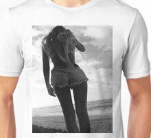 Black and white babe Unisex T-Shirt