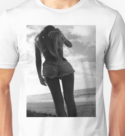 Black and white babe Unisex T-Shirt