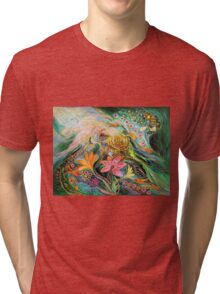 Dreams about Chagall. The sky violin Tri-blend T-Shirt