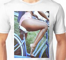 Bicycle babe Unisex T-Shirt