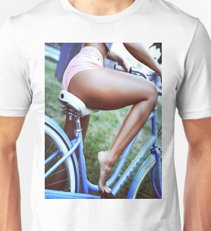 Bicycle babe Unisex T-Shirt