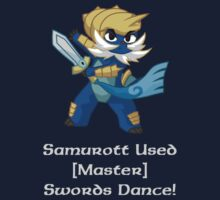 Samurott Uses Swords Dance by methuselah