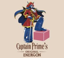 Captain prime's Original Energon by coinbox tees