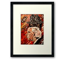 Bear Bryant and Mal Moore  Framed Print