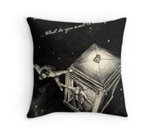 Winchesters Vs. TARDIS Throw Pillow