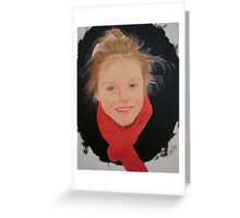 Winter wrap, summer smile.. Greeting Card