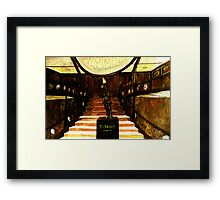 The Maiden Voyage  Framed Print