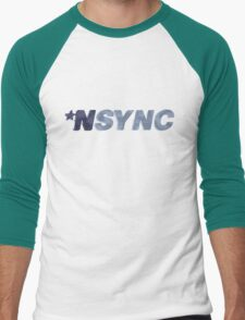 Nsync - weathered logo Men's Baseball ¾ T-Shirt