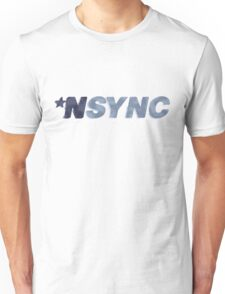 Nsync - weathered logo Unisex T-Shirt