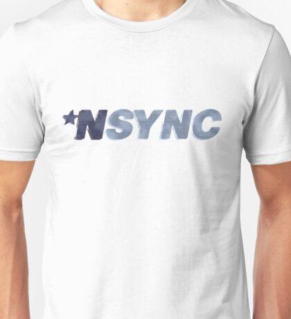 Nsync - weathered logo Unisex T-Shirt