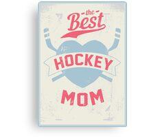 Hockey MOM Canvas Print
