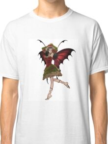 Christmas Fairy Elf Girl Classic T-Shirt