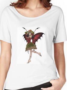 Christmas Fairy Elf Girl Women's Relaxed Fit T-Shirt