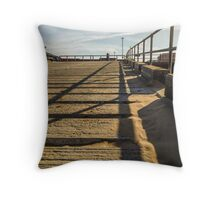 Lifeboat Ramp Throw Pillow