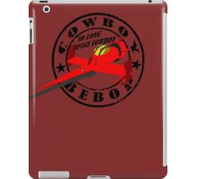 Cowboy Bebop - Swordfish (Old Stamp Style) iPad Case/Skin