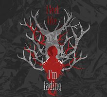 Hannibal nbc : Will Graham I feel like I'm fading iPhone & iPod Cases by morigirl