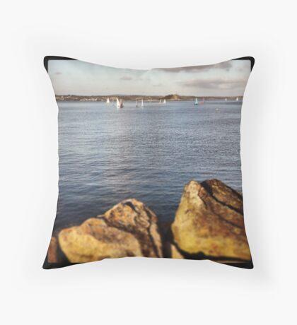 Penzance Evening Throw Pillow