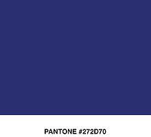 Tardis Blue Pantone by StewNor
